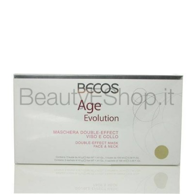 Age Evolution Maschera Double Effect Viso E Collo Professionale