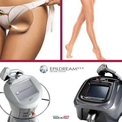 10 Epildream Diode Laser Aree 2 Large + 1 Small