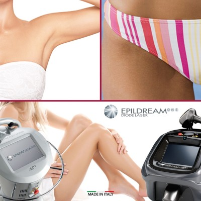 Programma 10 Sed. Epildream Diode Laser Body Parziale 2 Più Donna