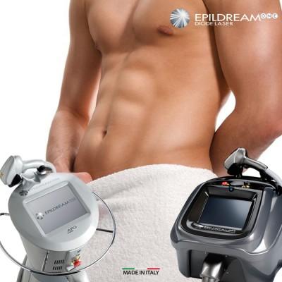 Programma 10 Sed. Epildream Diode Laser Medium Aree Uomo