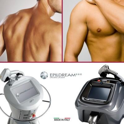 Programma 10 Sed. Epildream Diode Laser Extra Large Aree Uomo