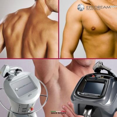 Programma 10 Sed. Epildream Diode Laser Body Parziale Uomo