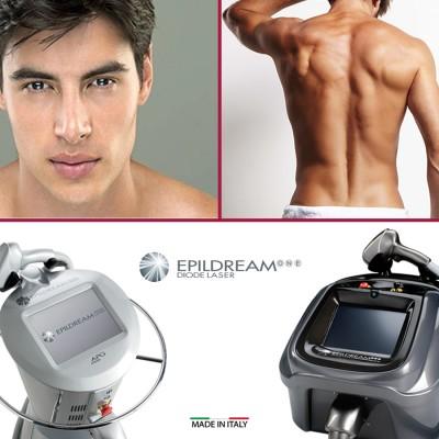 Programma 10 Sed. Epildream Diode Laser Body Parziale 1 Più Uomo