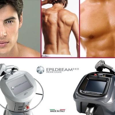 Programma 10 Sed. Epildream Diode Laser Body Parziale 2 Più Uomo