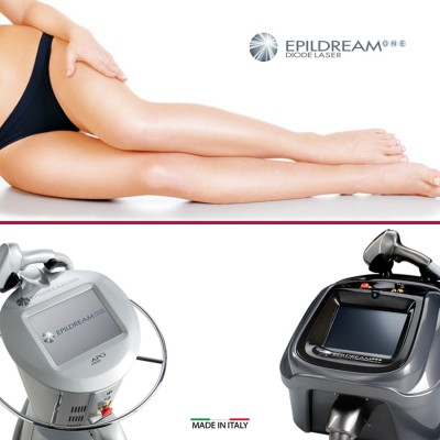 4 Epildream Diode Laser Aree 2 Large + 1 Small
