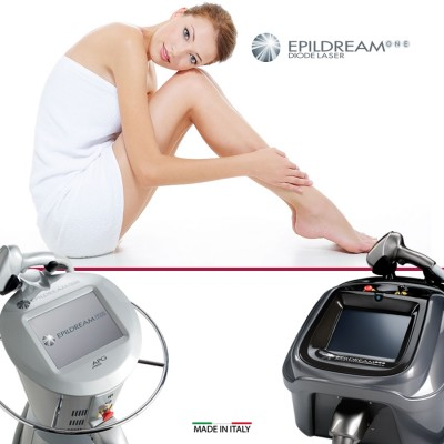 4 Epildream Diode Laser Total Body-face
