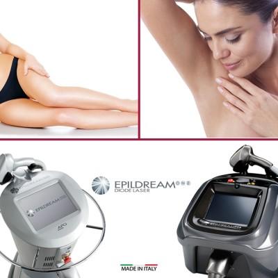 Programma 4 Sed. Epildream Diode Laser Body Parziale 1 Più Donna