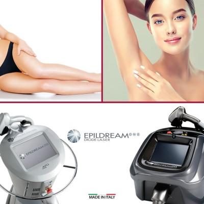 4 Epildream Diode Laser Aree Body-parziale