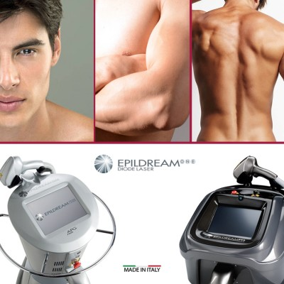 Programma 4 Sed. Epildream Diode Laser Body Parziale 1 Più Uomo