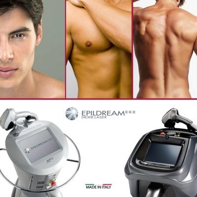Programma 4 Sed. Epildream Diode Laser Body Parziale 2 Più Uomo