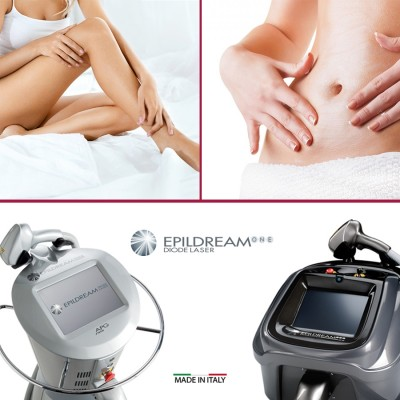 6 Epildream Diode Laser Aree 2 Large + 1 Small