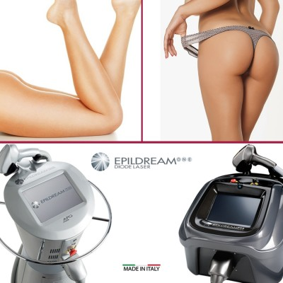 6 Epildream Diode Laser Aree Body-parziale