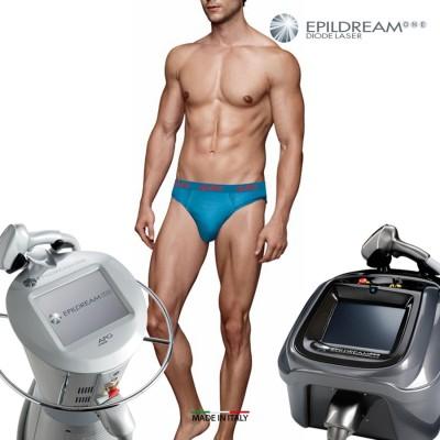 Programma 6 Sed. Epildream Diode Laser Total Body Uomo