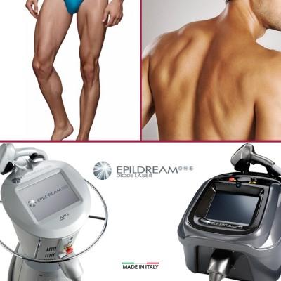 Programma 6 Sed. Epildream Diode Laser Body Parziale 1 Piu Uomo