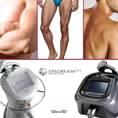 Programma 6 Sed. Epildream Diode Laser Body Parziale 2 Piu Uomo