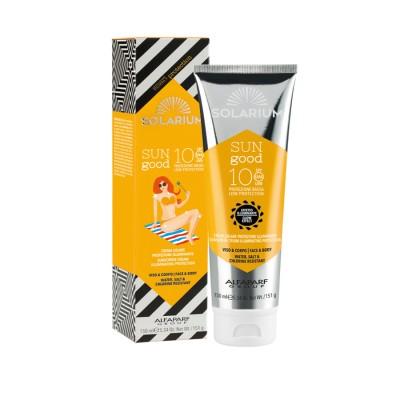 Solarium Sun Good Crema Solare Protezione Illuminante Spf10 Viso&corpo