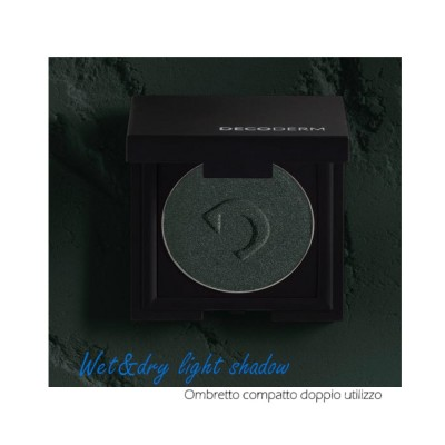Decoderm Wet & Dry Light Shadow Col.03 Misterious Green