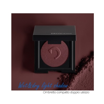 Decoderm Wet & Dry Light Shadow Col.06 Chic Bordeaux