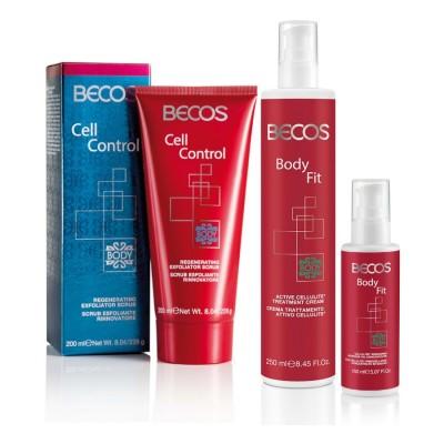 Body Fit- Crema Attiva +olio Rassoda Cellulite & Cell Control- Scrub Rigenera