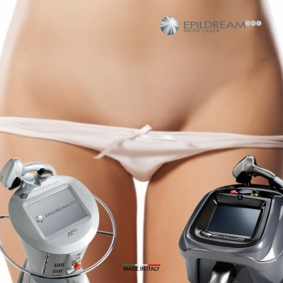 Programma 6 Sed. EPILDREAM DIODE LASER Large Aree Donna