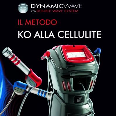 DYNAMIC-WAVE Onda D'urto Modella Riduce Cellulite -4 Sed.