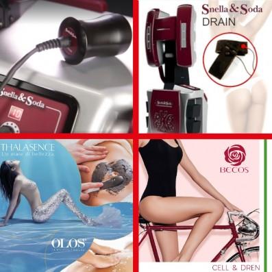 RIDUCE CELLULITE- Snella & Soda DREN+ Onda Elastica -10 Sedute