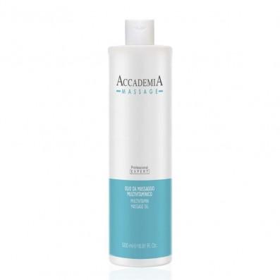 ACCADEMIA Massage Olio da Massaggio Multivitaminico 500 ml