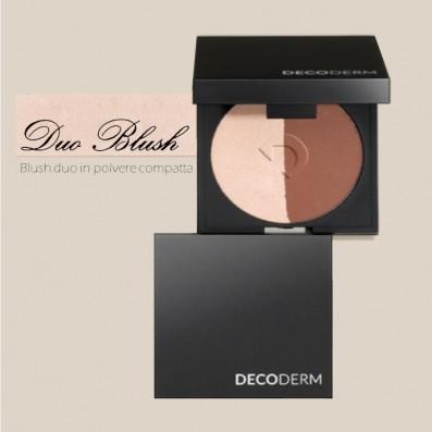 DECODERM Duo Blush in Polvere Compatta Col.01