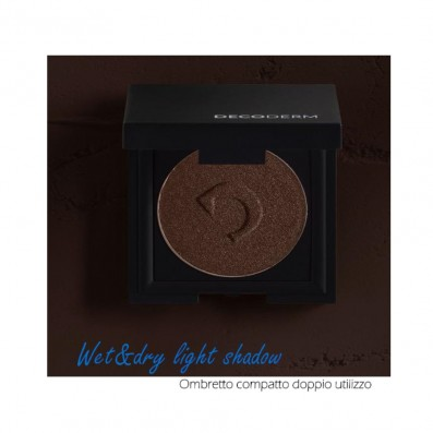 DECODERM Wet & Dry Light Shadow Col.12 Deep Brown