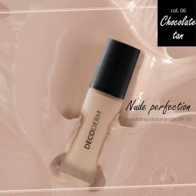 DECODERM Nude Perfection Fondotinta Idratante SPF15 Col.06