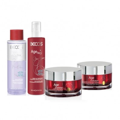 AGE STAR- Detersione(2) & AGE EVOLUTION- Creme Voluttuosa +Extra